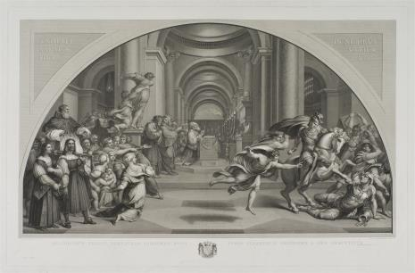 Pietro Anderloni, Wygnanie Heliodora ze świątyni