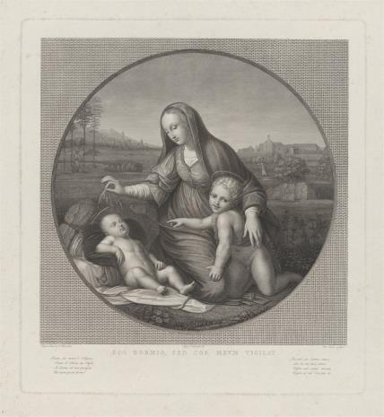 Antonio Banzo, Matka Boska ze świętym Janem Chrzcicielem, czuwająca nad śpiącym Dzieciątkiem