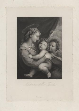 Paolo Toschi, Matka Boska z Dzieciątkiem i świętym Janem Chrzcicielem