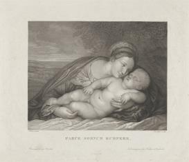 Matka Boska ze śpiącym Dzieciątkiem