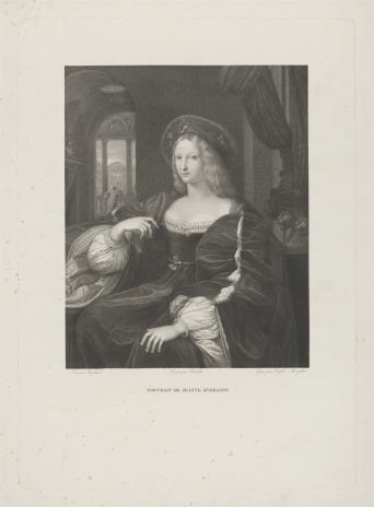 Raphael Morghen, Joanna Aragońska