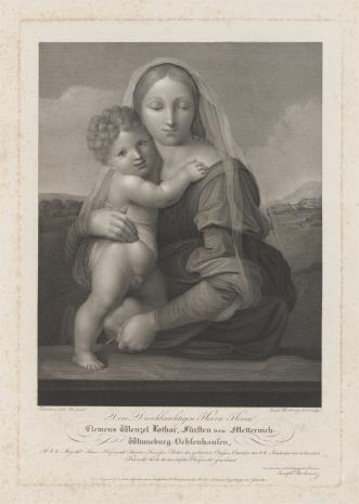 Joseph Berkowetz, Matka Boska z Dzieciątkiem