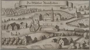 Widok miejscowości Wildtbad Stendelholtzen w Bawarii