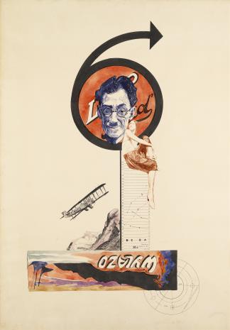 Mieczysław Szczuka, Projekt plakatu