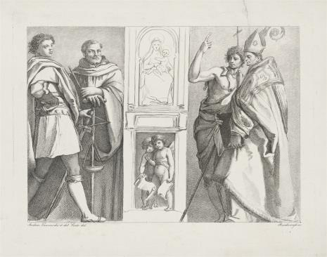 Ferdinand Ruschweyh, Czterech świętych