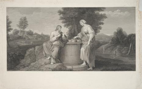 Karl Heinrich Rahl, Chrystus i Samarytanka