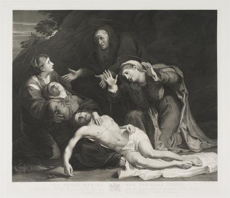 William Sharp, Opłakiwanie Chrystusa przez Najświętszą Pannę Marię i Trzy Marie
