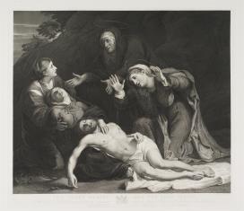 Opłakiwanie Chrystusa przez Najświętszą Pannę Marię i Trzy Marie