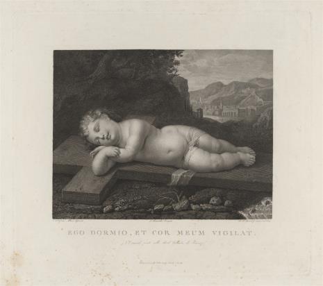 Mauro Gondolfi, Dziecię Jezus śpiące na krzyżu