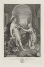 Chrystus jako ogrodnik ukazuje się Marii Magdalenie