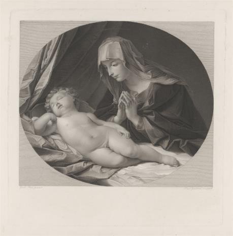 Paul Gleditsch, Matka Boska czuwająca nad śpiącym Dzieciątkiem