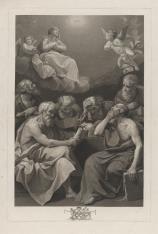Ojcowie kościoła rozmyślający o Niepokalanym Poczęciu Marii