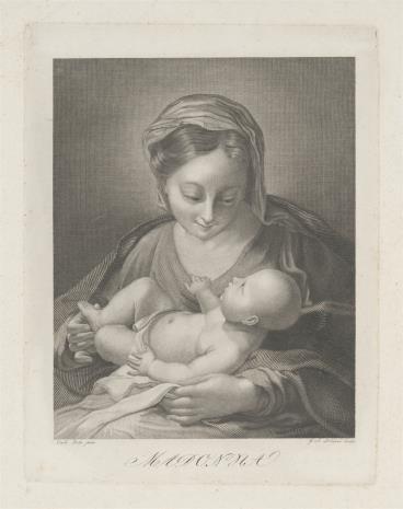 Gottfried Arnold Lehman, Matka Boska z Dzieciątkiem