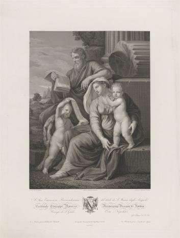 Faustino Anderloni, Św. Rodzina ze św. Janem Chrzcicielem