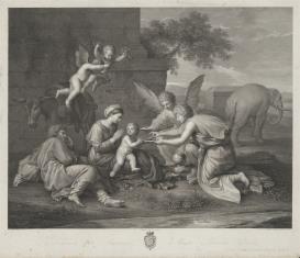 Odpoczynek św. Rodziny w czasie ucieczki do Egiptu