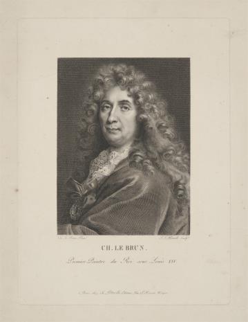 Jean Louis Potrelle, Autoportret Charlesa Le Brun