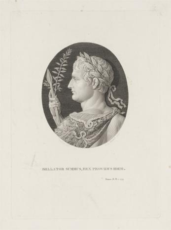 R. V. Massard, Popiersie Cezara