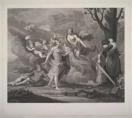 Ignazio Pavon, Wenus daje zbroję Enneaszowi