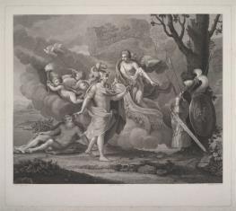 Wenus daje zbroję Enneaszowi