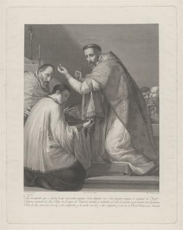 Blas Ametller, Msza św. Grzegorza