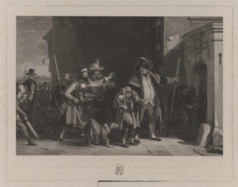 Abraham Raimbach, Trupa wędrowna