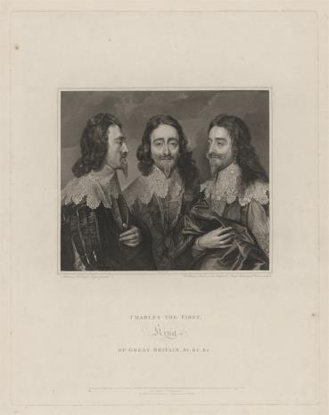 William Sharp, Karol I, król angielski