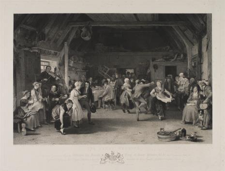 James Stewart, Zabawa weselna w wiejskiej gospodzie