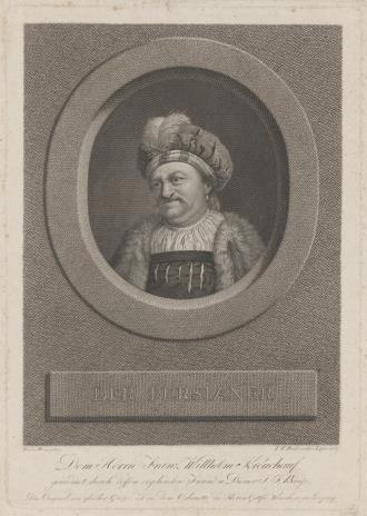 Johann Friedrich Bause, Pers
