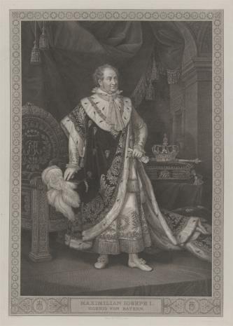 Carl Ernst Christoph  Hess, Maksymilian Józef I, król Bawarii