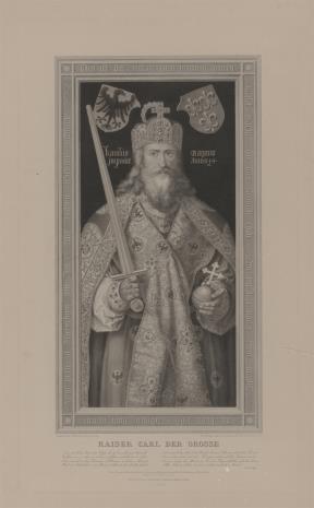 Albert Christoph  Reindel, Karol Wielki w stroju koronacyjnym