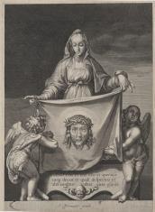 Św. Weronika z chustą w rękach