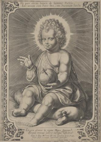 Jan Eillarts, Dzieciątko Jezus siedzące na poduszce