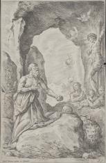 Święty Hieronim pokutujący