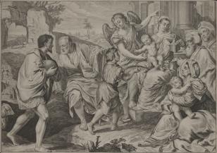 Madonna z Dzieciątkiem adorowana przez pasterzy
