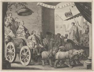 Maria Medici na rydwanie kierowanym przez Henryka IV