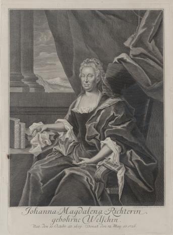 Johann Martin Bernigeroth, Joanna Magdalena Richterin