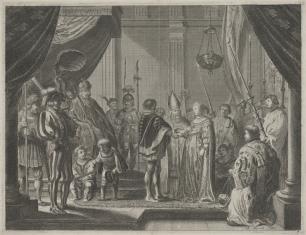 Zaślubiny Marii Medici