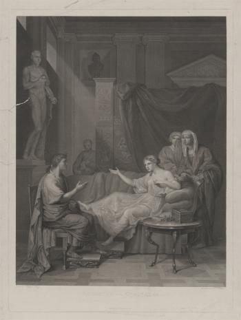 Johan Pleikard Bittheuser, August i Kleopatra
