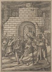 Scena z historii Arona i Mojżesza