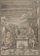 Ofiara złożona przez Izraelitów przed opuszczeniem Egiptu