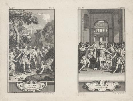 Johann Martin Bernigeroth, Ilustracje do