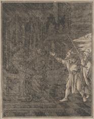 Aron i Mojżesz przed faraonem