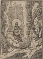 Bóg zabrania Mojżeszowi spojrzeć w swe oblicze