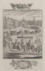 Wjazd Karola II do Londynu w 1660 r.
