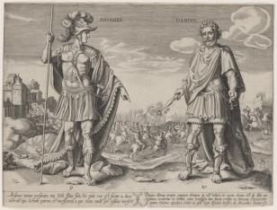 Królowie perscy: Arsames i Dariusz