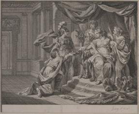 Scena z historii Kleopatry