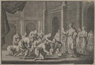 Aza przesyła  Badadowi naczynia ze świątyni Salomona