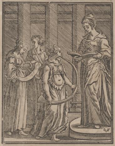 Christoph Młodszy Sichem, Cztery postacie kobiet