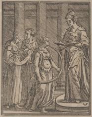 Cztery postacie kobiet