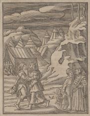 Jetro przybywa do Mojżesza
